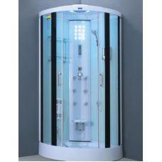 Полукруглая душевая кабина Ammari (Аммари) AM-058 95*95 см для ванной комнаты