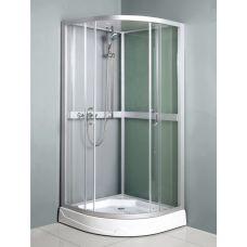 Полукруглая душевая кабина Ammari (Аммари) AM-085 90*90 см для ванной комнаты