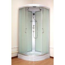 Полукруглая душевая кабина Ammari (Аммари) AM-136 100*100 см для ванной комнаты