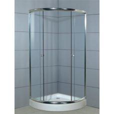 Полукруглая душевая кабина Ammari (Аммари) AM-025 90*90 см для ванной комнаты