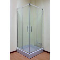 Полукруглая душевая кабина Ammari (Аммари) AM-14-80 80*80 см для ванной комнаты