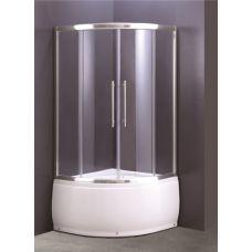 Полукруглая душевая кабина Ammari (Аммари) AM-37-90 90*90 см для ванной комнаты