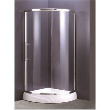 Полукруглая душевая кабина Ammari (Аммари) AM-38-80 80*80 см для ванной комнаты