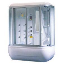 Прямоугольная душевая кабина Appollo (Апполло) A-0734 171*82 см с парогенератором и гидромассажем для ванной комнаты