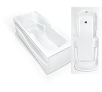 Акриловая ванна Bach Эллина 170*73