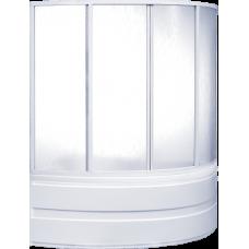 Шторка Bas (Бас) Алегра (Alegra) для асимметричной акриловой ванны в ванной комнате