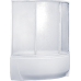 Шторка Bas (Бас) Фэнтази (Fantasy) для асимметричной акриловой ванны в ванной комнате