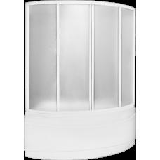 Шторка Bas (Бас) Вектра (Vectra) для асимметричной акриловой ванны в ванной комнате