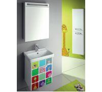 Мебель Dreja Print 50 см для ванной комнаты
