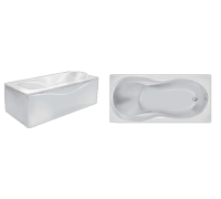 Акриловая ванна Eurolux Аполлония 180*90