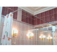 Карниз Excellent Г-образный для прямоугольной ванны