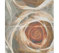 Декор Fanal Carrara Decorado Flor 1 65*60
