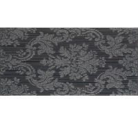 Декор Fanal Line Decorado Damasco Negro 25*50
