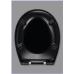 Универсальная крышка-сиденье Haro Сomo Swarovski Black для большинства унитазов