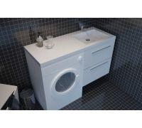Комплект Kolpa-San Modul Concept 1 122: тумба и раковина для стиральной машины