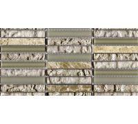 Мозаика L'Antic Colonial Mosaico Tecno Linear Cream-Capuccino G-517 29.6*29.6