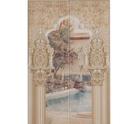Декор Newker Alhambra Mural Multi B 50*75