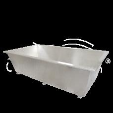 Прямоугольная ванна Oceanus (Океанус) 11-001.1 170*90 см из нержавеющей стали для ванной комнаты