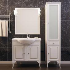 Мебель Opadiris Глория 85 см из массива для ванной комнаты