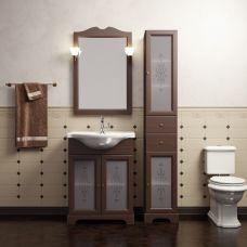 Мебель Opadiris Кама 65 см из массива для ванной комнаты