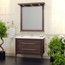 Мебель Opadiris Корлеоне 80 см из массива для ванной комнаты