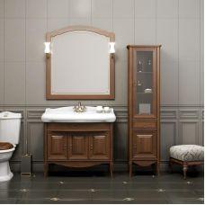 Мебель Opadiris Лоренцо 100 см из массива для ванной комнаты