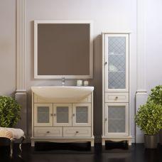 Мебель Opadiris Омега 90 см из массива для ванной комнаты