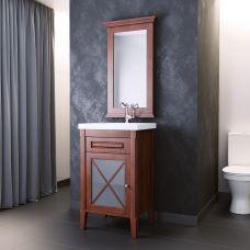 Мебель Opadiris Палермо 50 см из массива для ванной комнаты