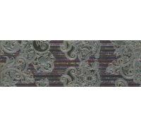 Декор Porcelanite Dos Serie 2210 Decor Lila-Turquesa-Marengo Lineal Garden 22.5*67.5