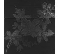 Декор Porcelanosa Decorados Flower Antracita P3470285 94.8*90 см