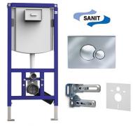 Комплект Sanit 4 в 1 Ineo Plus 90.721.00.S002 для унитаза