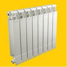 Радиатор TermoSmart (ТермоСмарт) Alusmart (Алусмарт) 500 мм / 5 секции / 965 Вт для отопления квартиры и дома