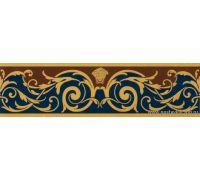 Бордюр Versace Vanitas Fascia Classica Blu 37331 11*39.4