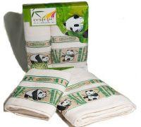 Комплект бамбуковых полотенец Cestepe Bamboo Panda