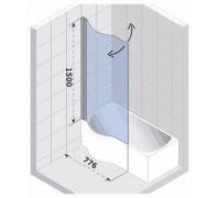 Шторка для ванны Riho Nautic Dorado