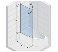 Шторка для ванны Riho Nautic Lyra