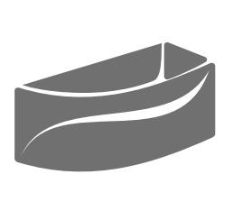Сантехника Excellent (Экселлент) - акриловые ванны в черном цвете
