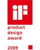 """2009 - Премия в области промышленного дизайна """"iF Product Design Award"""""""