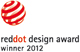"2012 - Премия в области дизайна ""red dot design award"""