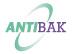 ANTIBAK - глазурированный внутренний круг и выпуск биде