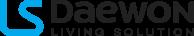 Логотип LS Daewon Living Solution - электронные крышки-биде и унитазы