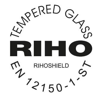 Закаленноестекло в соответствии с нормой EN 12150-1-Sts с поверхностной обработкой Riho Shield