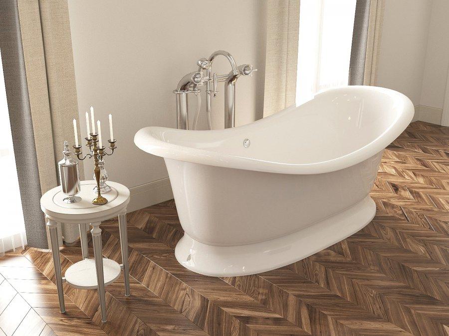 Акция на ванны AquaStone - скидки до 30% на все ванны излитого мрамора