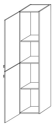 Пенал Gorenje Alano E 35.07, двудверный, 60 см