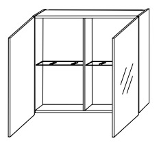 Зеркало-шкаф Gorenje Lorencio F 60.15 без подсветки