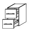 Нижний шкаф Gorenje Avon F 30.01 - 30/50/45 см