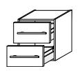 Нижний шкаф Gorenje Avon F 45.01 - 45/50/45 см