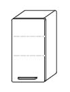 Подвесной шкаф Gorenje City B 30.39 - 30/70/20 см