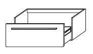 Тумба-умывальник Gorenje City F 90.58 - 90/35/45.2 см с раковиной UM 90.163