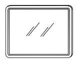 Зеркало Gorenje Fantasia c LED подсветкой - 90/70/2 см